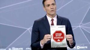 Carta al presidente Pedro Sánchez