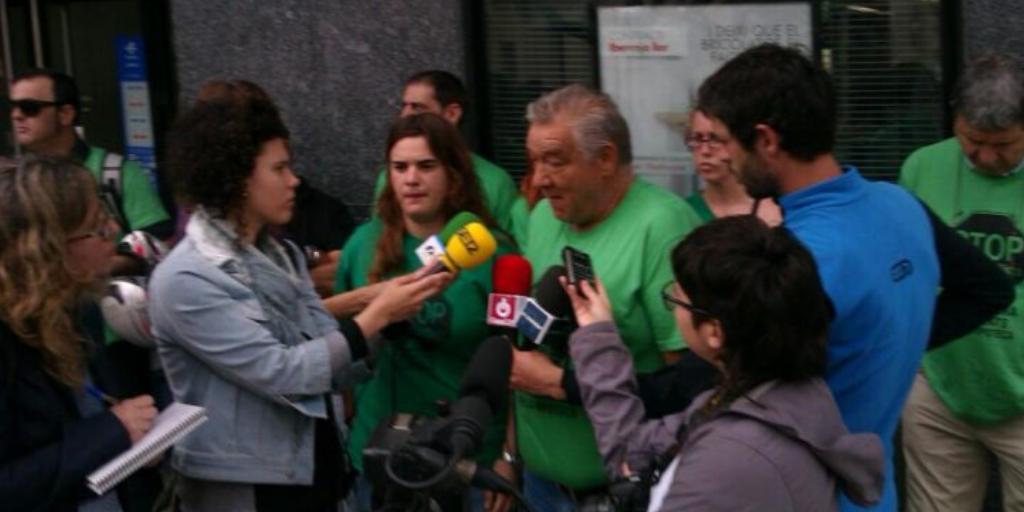 Comunicat de la PAH Terres de l'Ebre per denunciar la greu situació de Jaume, veí d'Amposta que pot ser desnonat per una hipoteca d'IberCaja