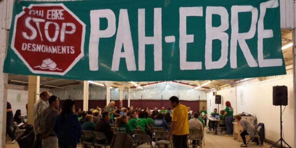 La @PAHEbre, amfitriona de la passada assemblea de #PAHsCAT a #Tortosa #TerresdelEbre
