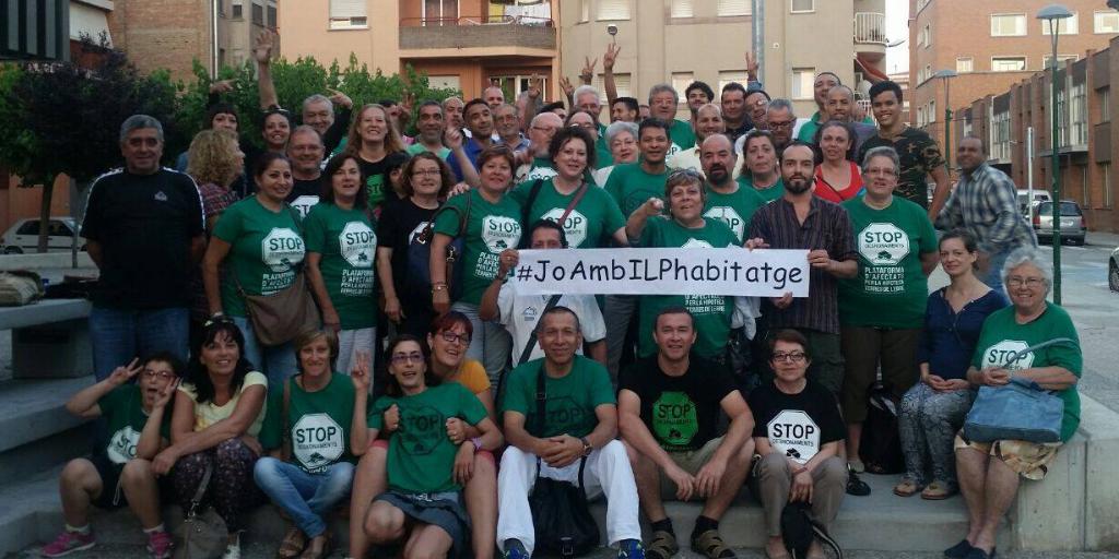 #JoAmbILPHabitatge perquè una Catalunya sense desnonaments ni talls de subministrament és possible #AlJunyEsPot