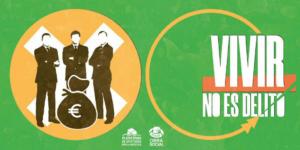 Vivir no es delito, nueva campaña de la Obra Social PAH