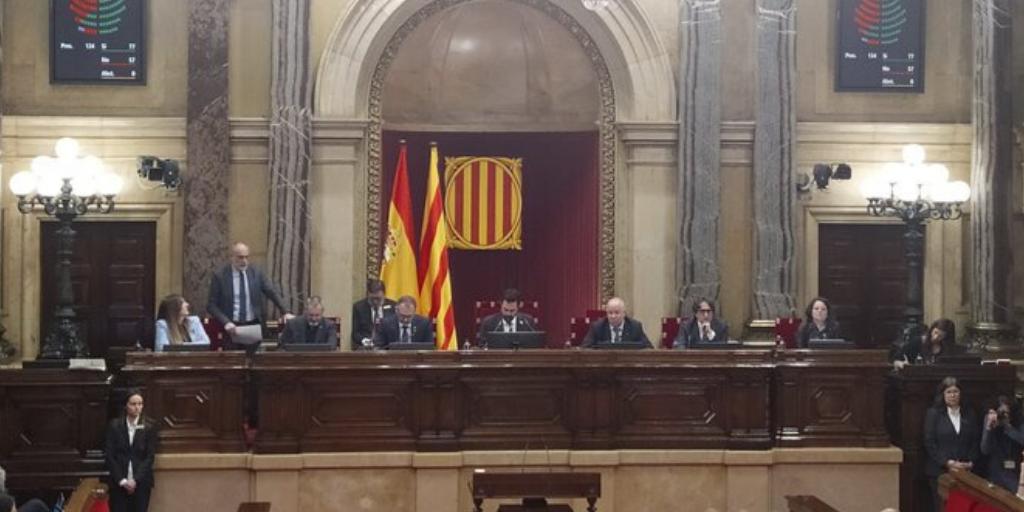 Queda convalidado en Catalunya el Decreto Ley 01/2020