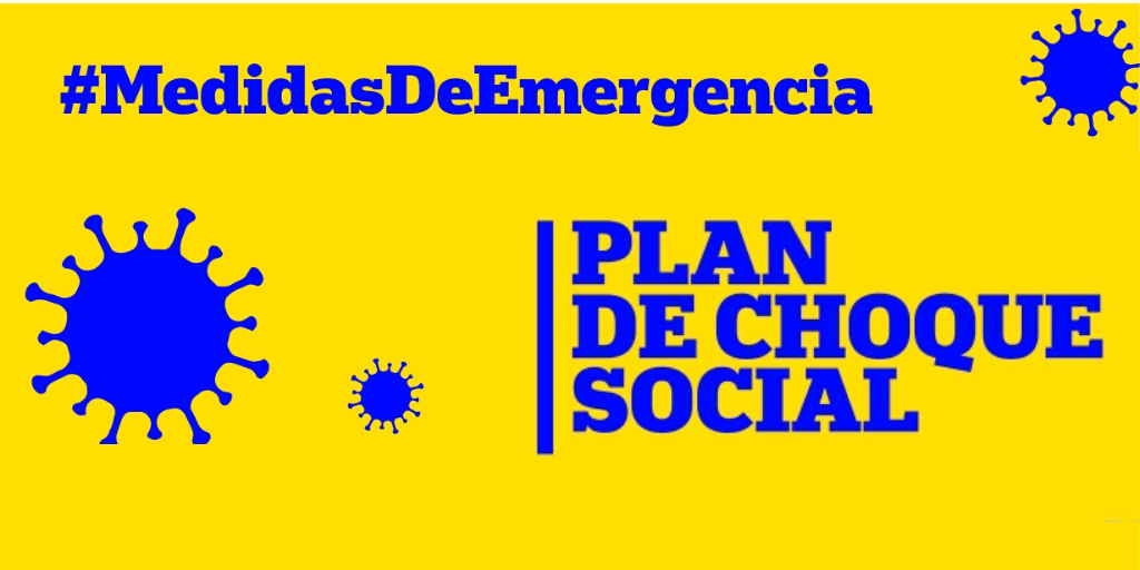 Plan de choque social – Medidas de emergencia